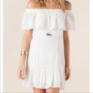 NWOT Francesca's Off the Shoulder Dress